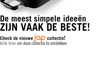De meest simpele ideeen zijn vaak de beste! Check de nieuwe jap collectie!